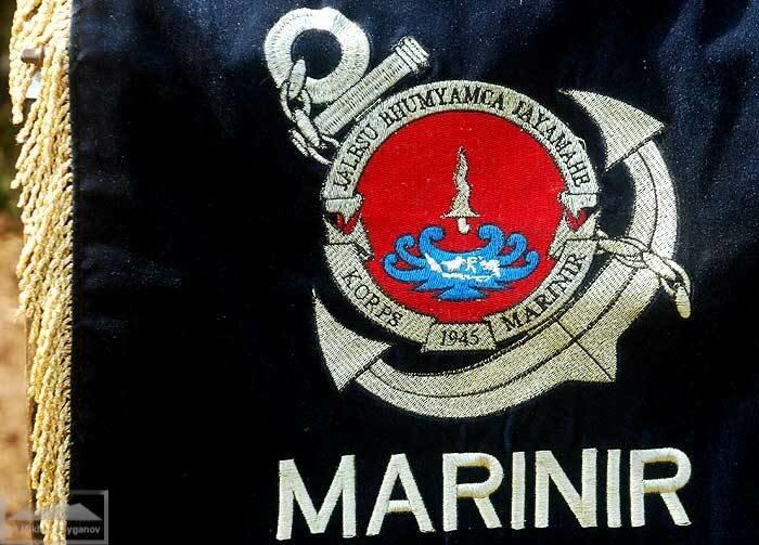 Эмблема Корпуса морской пехоты Индонезии