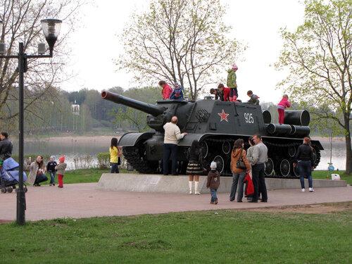 Самоходная артиллерийская установка ИСУ-152 1944 г.