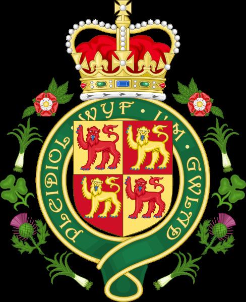 Флористические символы англоговорящих стран