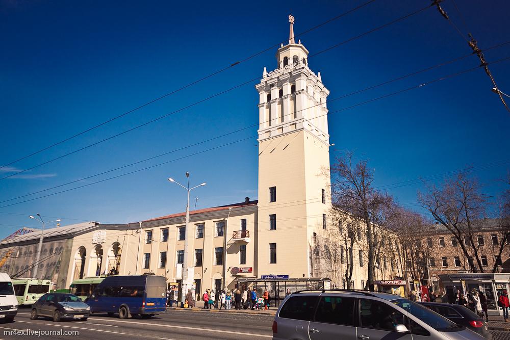Гомель, фабрика 8 марта, улица Советская