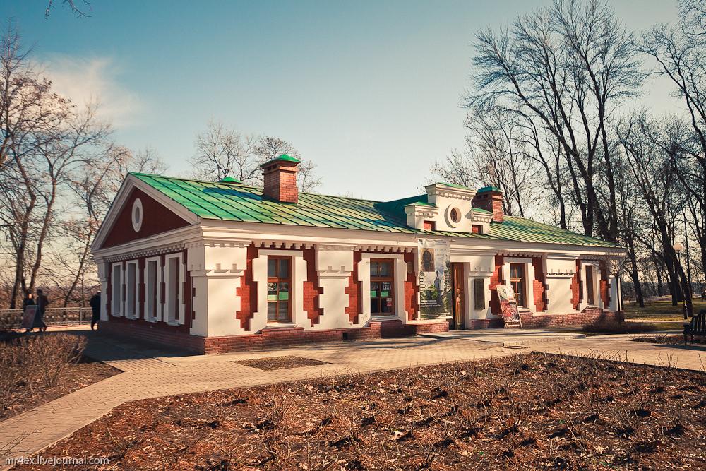 Гомель, дворцово-парковый комплекс