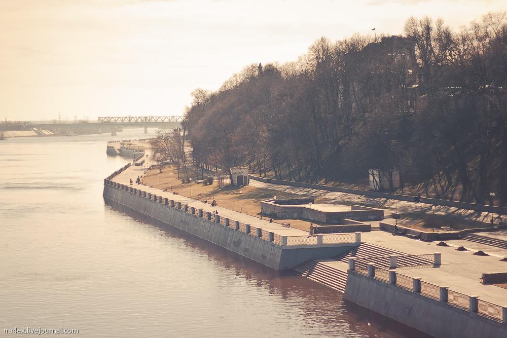 Гомель, река Сож, набережная реки Сож