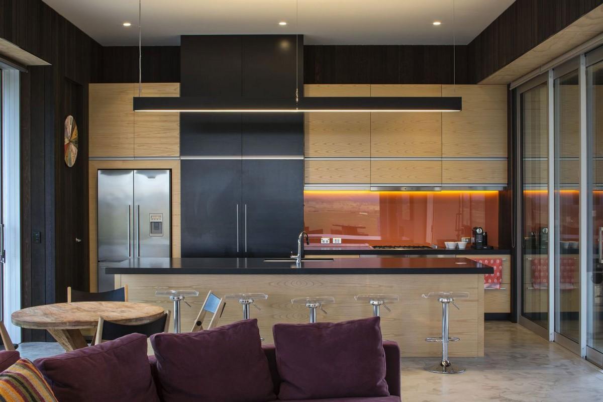 Te Hana Farmhouse, S3 Architects, проекты S3 Architects, дома в Новой Зеландии, облицовка дома деревом, потрясающий вид из окон частного дома