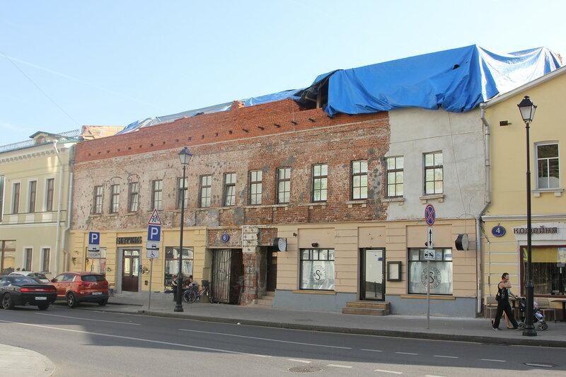 Перестройка памятника архитектуры по адресу: Покровка дом 6