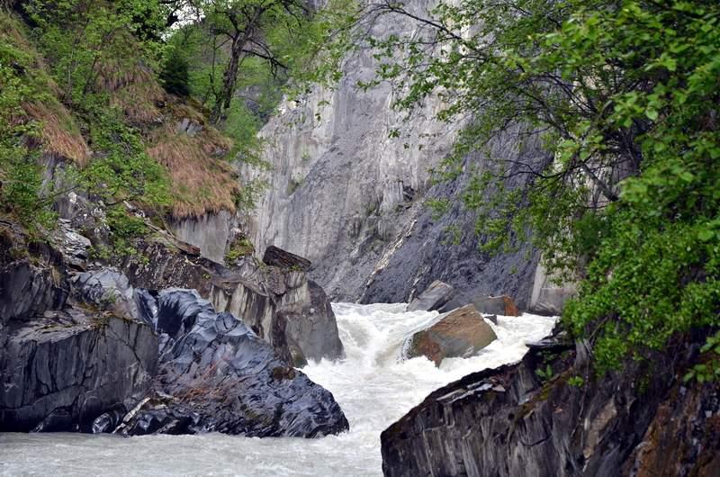 Сплав по реке Ингури, Мулхура
