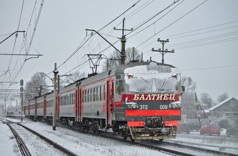 "ЭТ2-009 ""Балтиец"", Гатчина-Варшавская."