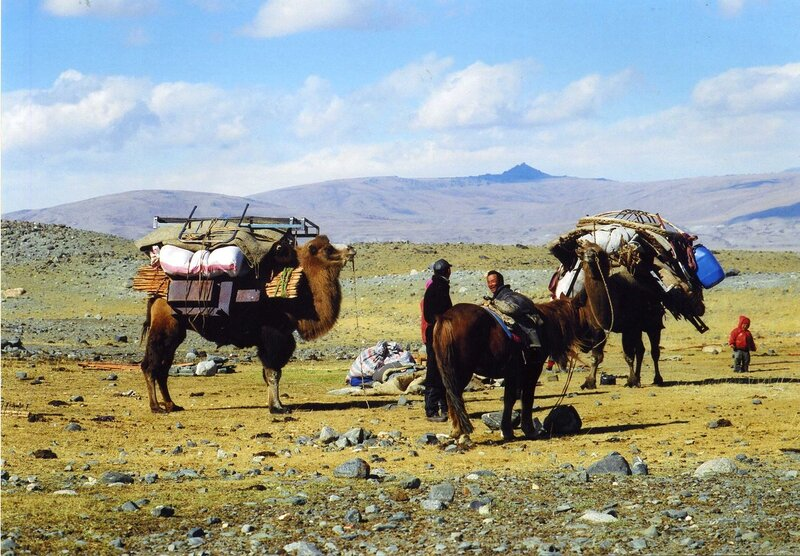 Дороги Монголии (Монгольский Алтай в сентябре)