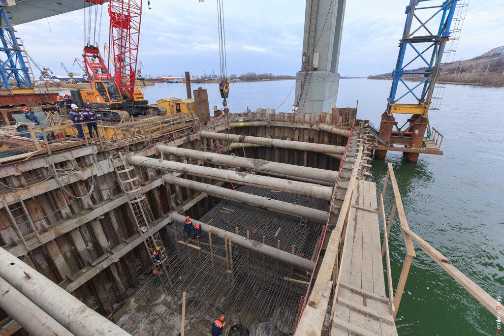 М4 ДОН 1061 км мост река Дон Аксай реконструкция строительство
