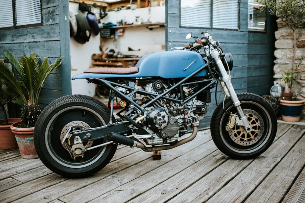 Satora Design: кастом Ducati Monster Tracker