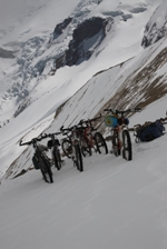 Сложный горный велопоход по Кавказу продолжительностью две недели с большим количеством долгих