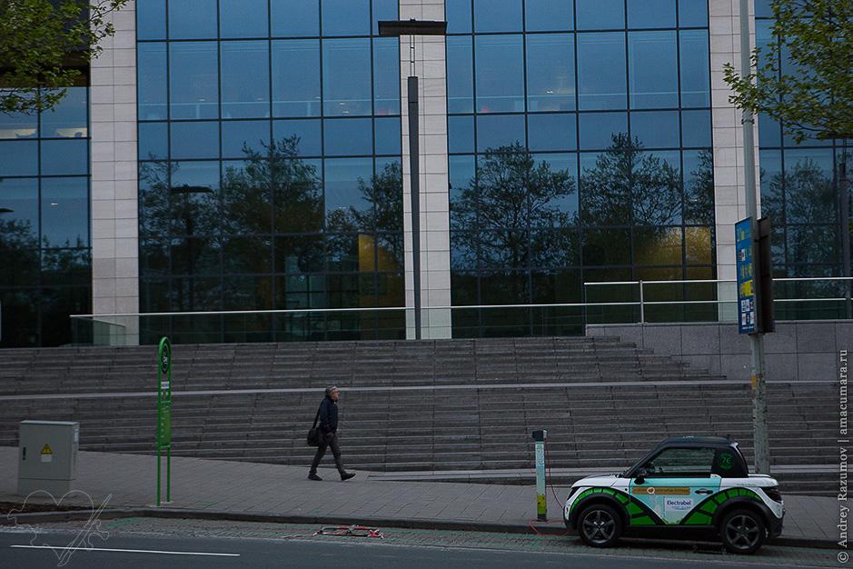 Электромобиль в Брюсселе