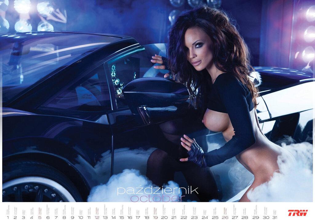 Эротический календарь дистрибьютора автозапчастей Inter Cars SA 2014