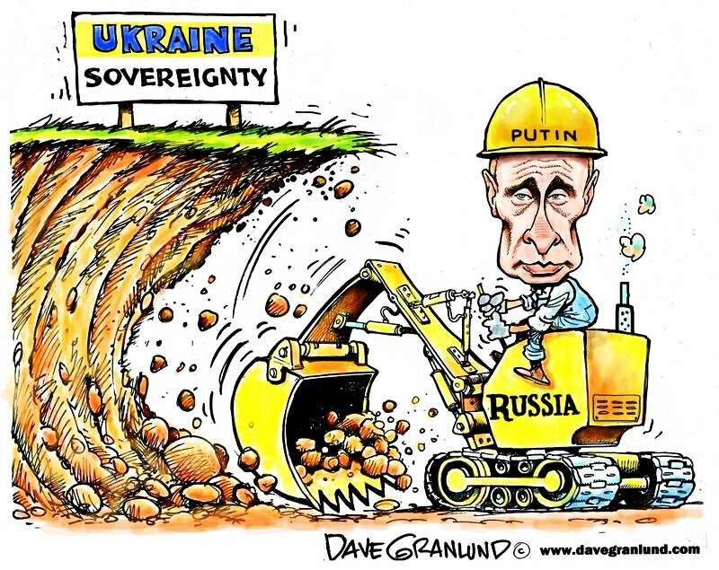 Подкоп под Украину (Dave Granlund)