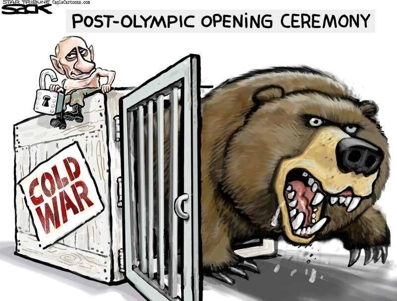 Начало Послеолимпийской церемонии (Daniel Kurtzman)