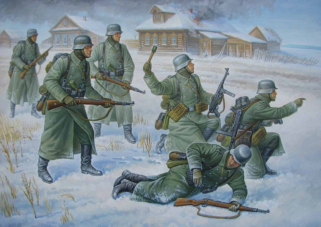 Солдаты немецкой армии (Олег Федоров)