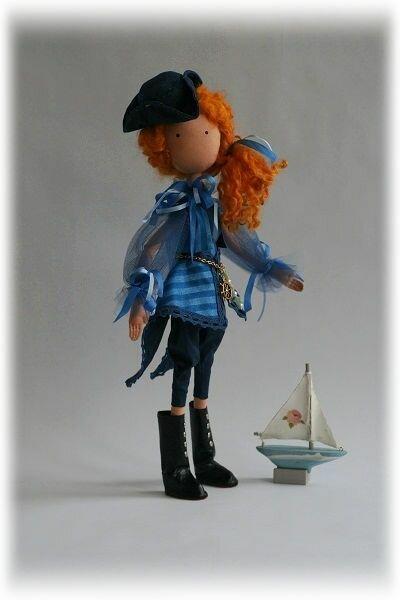 кукла морская