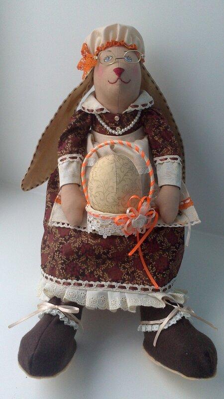 бабушка крольчиха