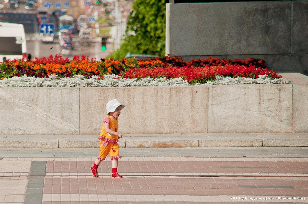 Брянск. Площадь Партизан / Июль 2013 года