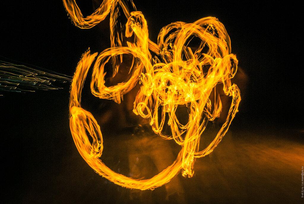Тайланд. Огненное шоу на острове Ко Чанг