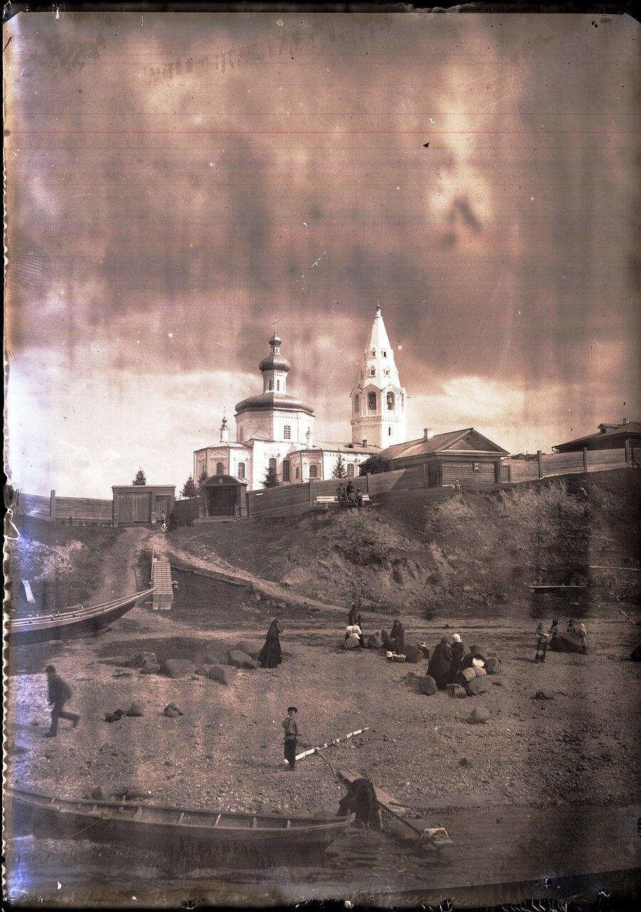 1916. Село Кондинское. Сельская церковь