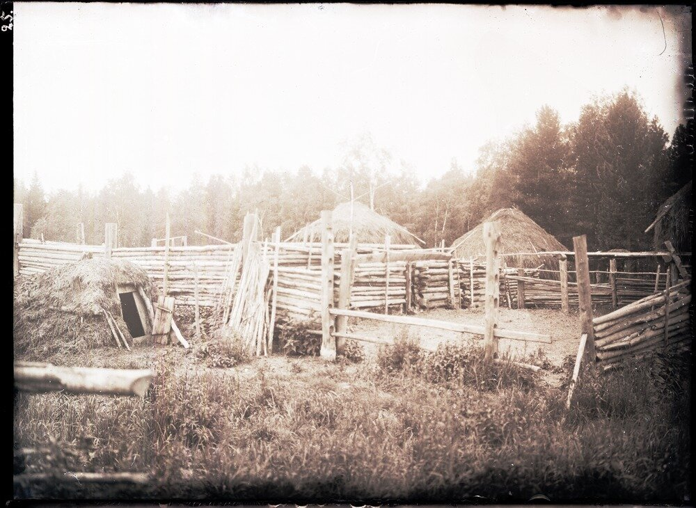 Пригон и овечий хлев у Сивохребских