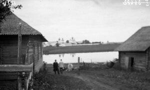 Вид от Ситки на Кирилловский монастырь