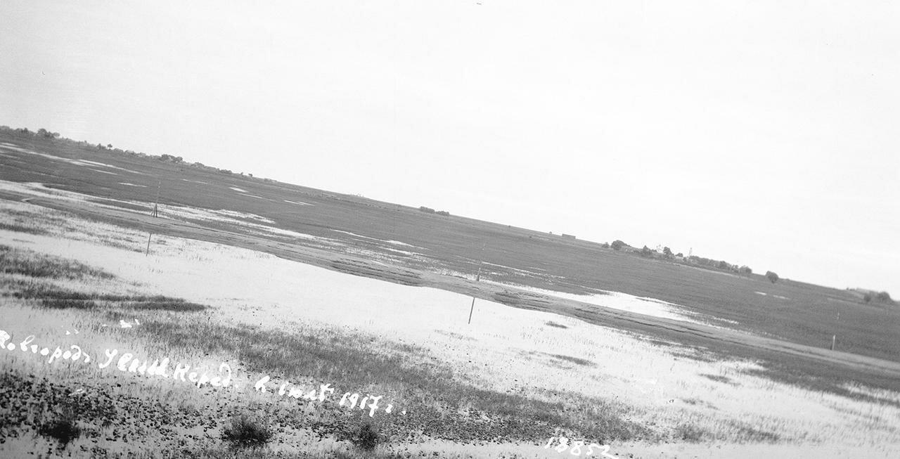 Вид от Спаса Нередицы в сторону Кириллова монастыря