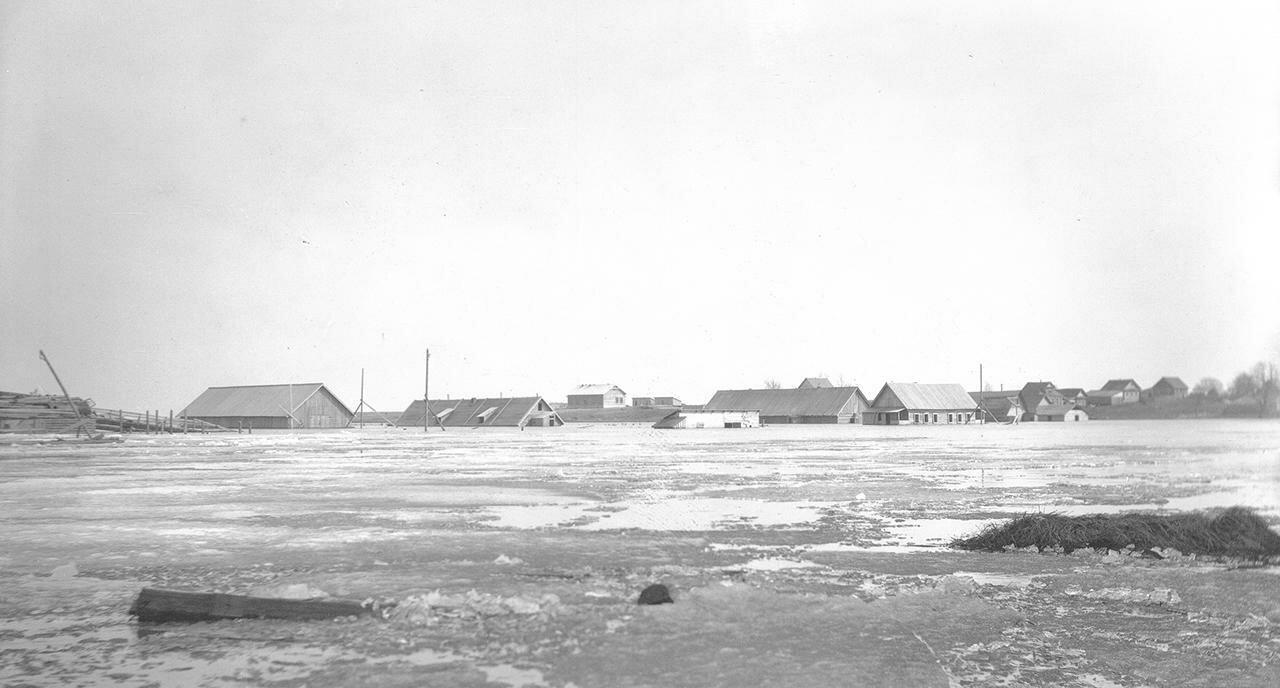 Разлив реки у с. Городище