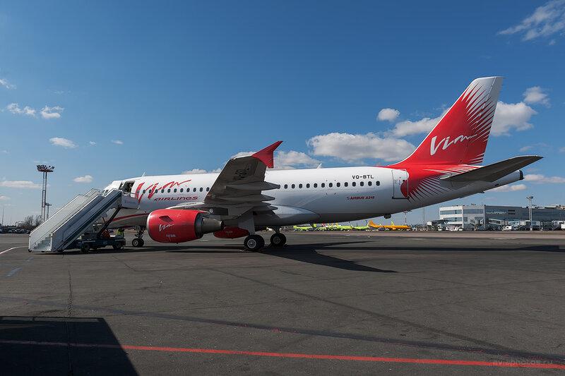 Airbus A319-111 (VQ-BTL) VIM Airlines D708352