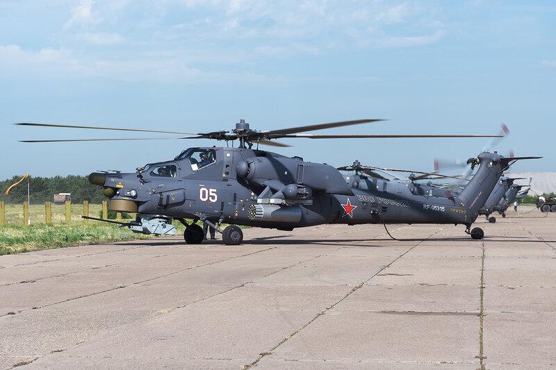 Миль Ми-28Н (RF-95315 / 05 белый) D709376a