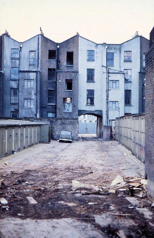 Непарадный Лондон 1973 года