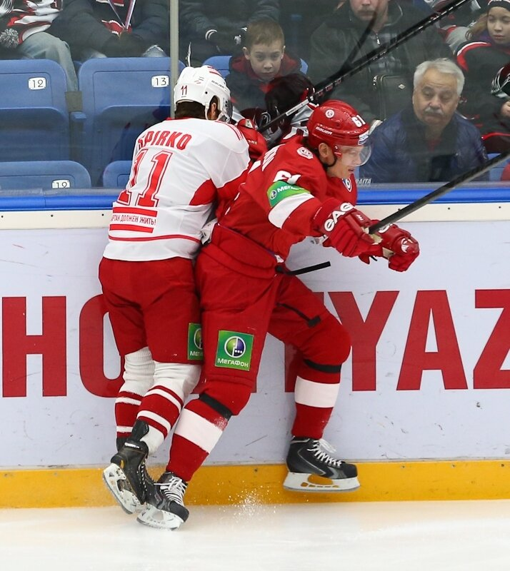 «Витязь» vs «Спартак» 4:3 Б чемпионат КХЛ 2012-2013 (Фото)