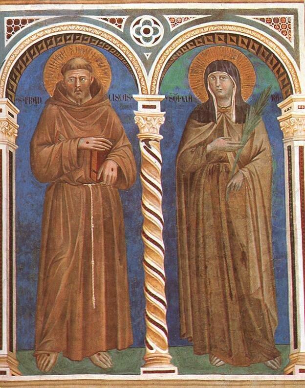 3.Св.Францис + св.Клара (1279-1300).jpg