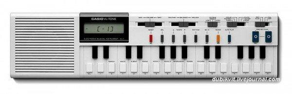Casio VL-Tone (VL-1) фото