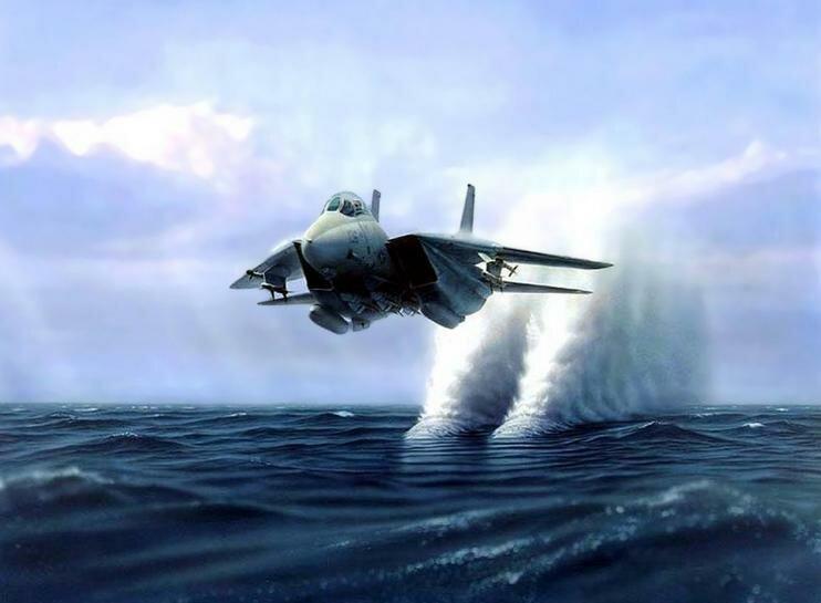 Электронная начинка самолета позволят совершать чудеса пилотирования