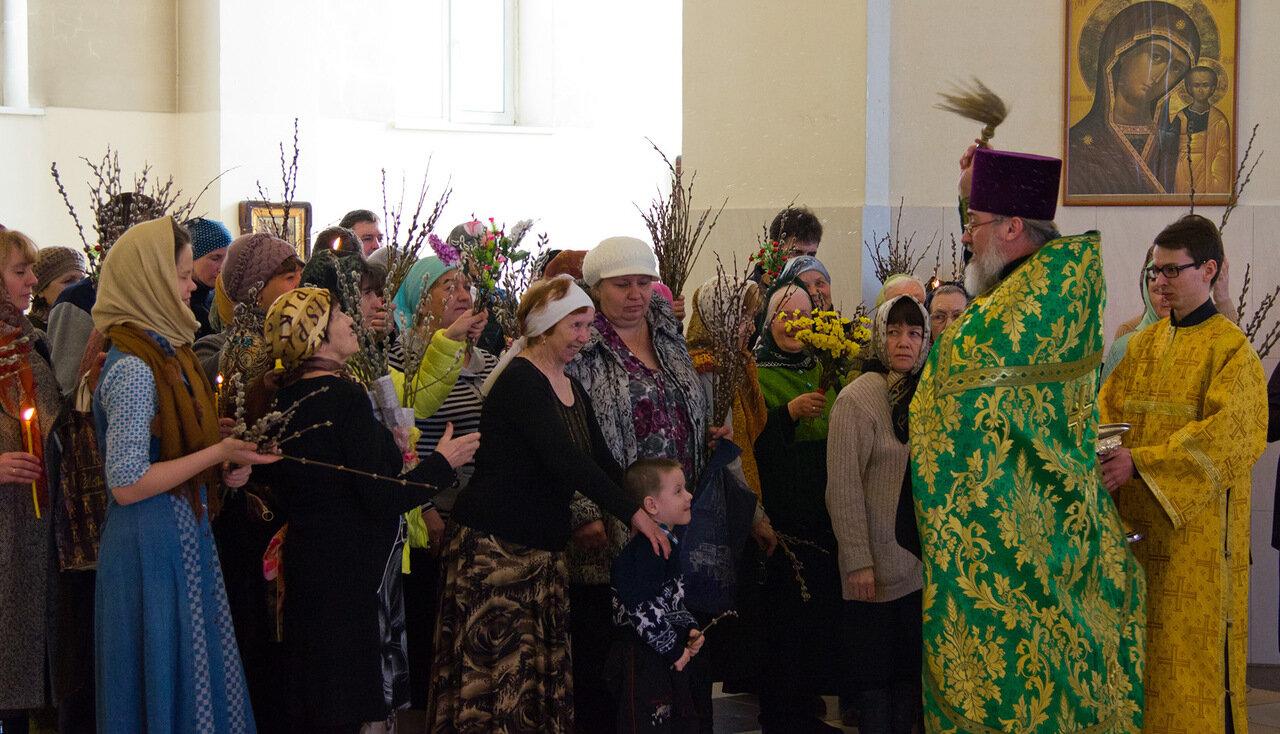 13 апреля Русская Православная Церковь отмечает праздник Входа Господня в Иерусалим