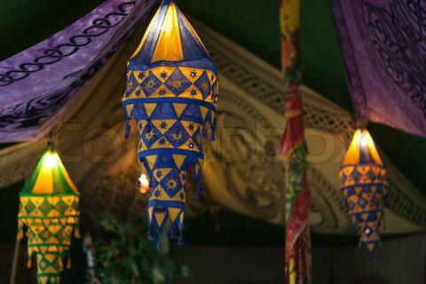 Рукодельное сумасшествие Indian Lanterns