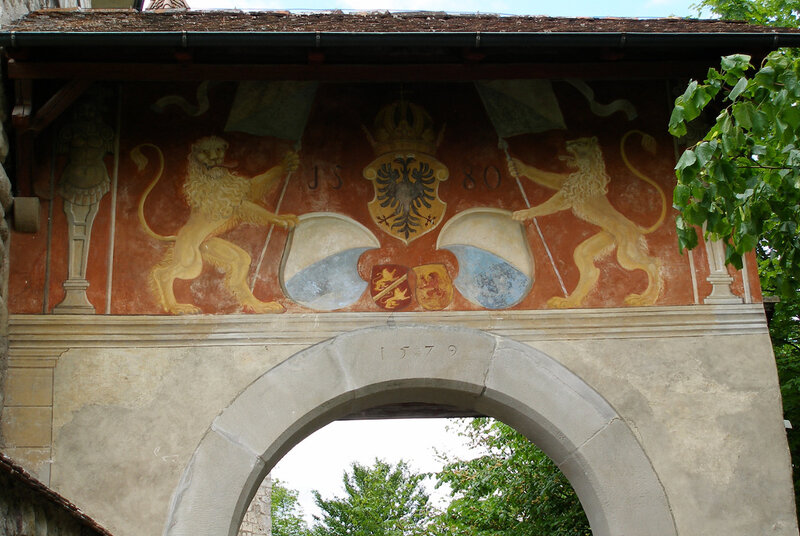 Замок Kyburg. Винтертур-Цюрих