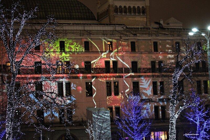 Москва предновогодняя 2013
