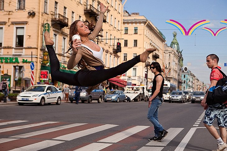 Танцующий Петербург (69 фото)