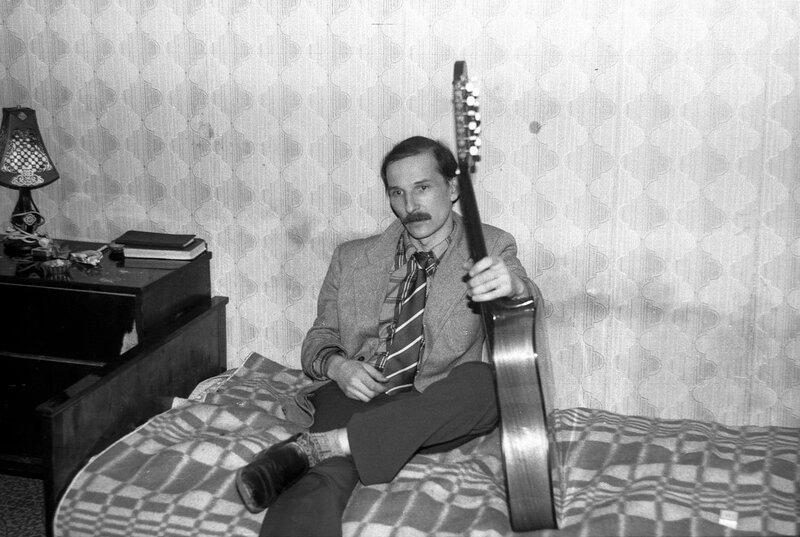 13. Петр Мамонов, квартирник, Москва 1985