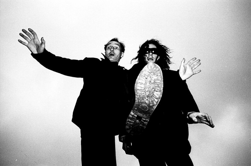 15. Мамонов и Алексей, Москва 1989
