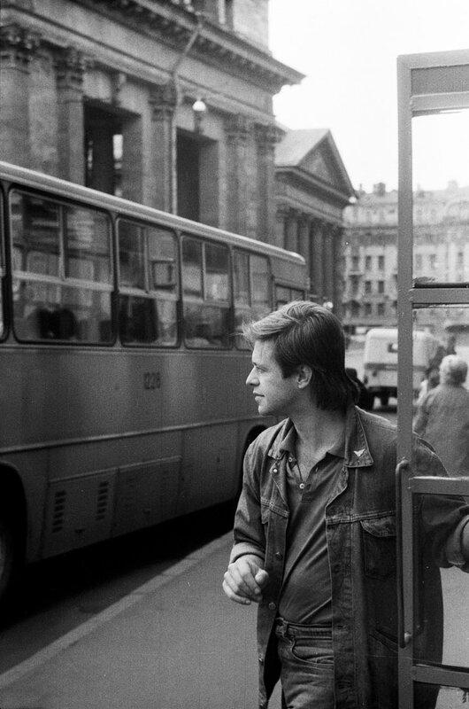 25. Борис Гребенщиков, Ленинград 1986