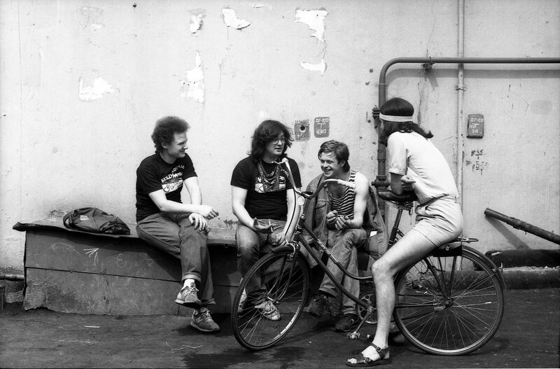 28. Группа «АКВАРИУМ», Ленинград 1986
