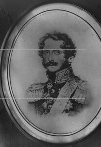 Командир полка (1817-1831), генерал-лейтенант барон Кнорринг (портрет).