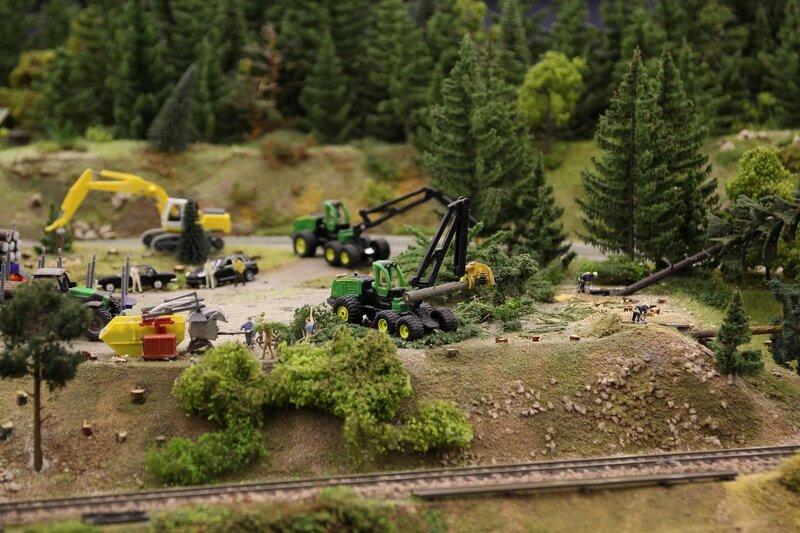 Гранд макет: рубка леса