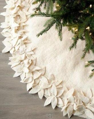 Декоративные юбки для ёлки