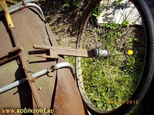 колесо +для садовой тележки