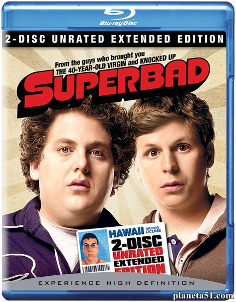 SuperПерцы / Superbad [Extended Edition] (2007/HDRip)