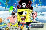 Бомбер Губка Боб игра для двоих (SpongeBob Bombman)